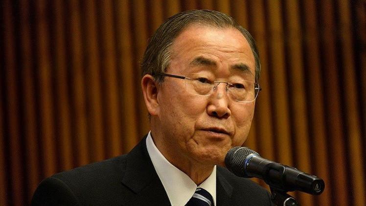 بان كي مون يقدم خطة للتحقيق في هجمات الكيماوي بسوريا