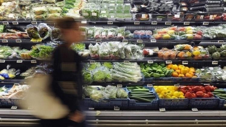 تراجع واردات روسيا من السلع الغذائية المحظورة بمقدار النصف