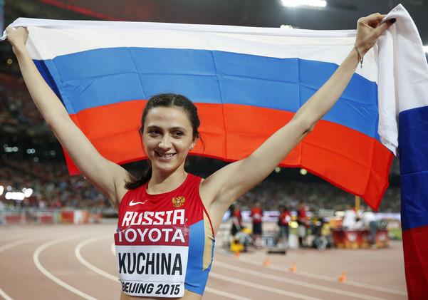 الروسية كوتشينا تهدي روسيا الذهبية الثانية في بكين