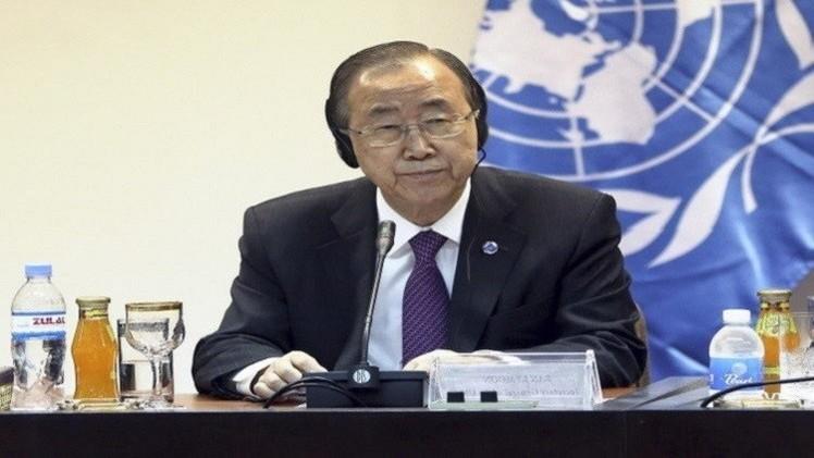 بان كي مون يدعو كافة الدول إلى الامتناع عن التجارب النووية