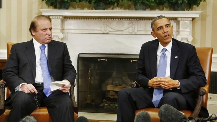 أوباما يدعو رئيس الوزراء الباكستاني لزيارة البيت الأبيض في أكتوبر
