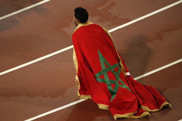 المغربي إيكيدير يهدي بلاده أول ميدالية في ألعاب القوى منذ 2007