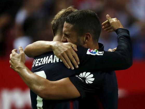 (فيديو) أتلتيكو مدريد يعود منتصرا من ملعب إشبيلية في الليغا