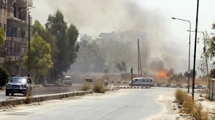 الجيش السوري يتقدم في الزبداني.. والمعارضة تطلق ألفي قذيفة على كفريا والفوعة