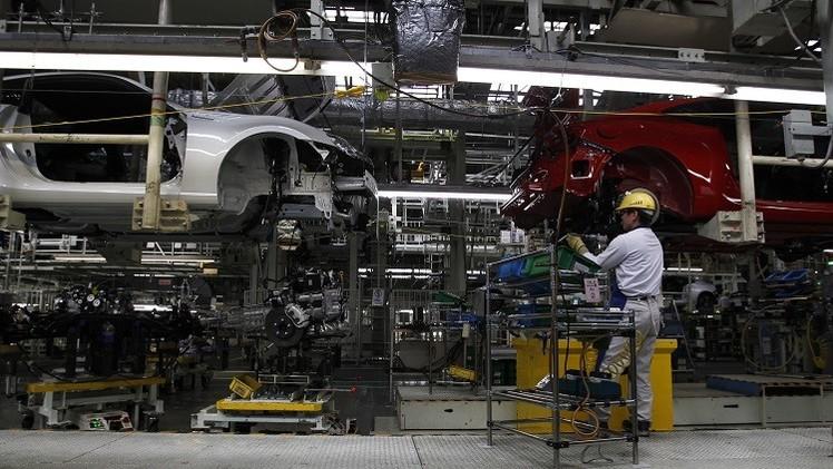 انخفاض الصناعة في اليابان في شهر يوليو بشكل غير متوقع