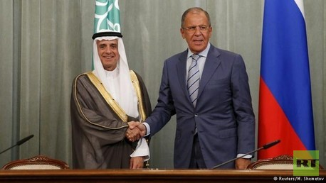 وزير الخارجية الروسي ونظيره السعودي