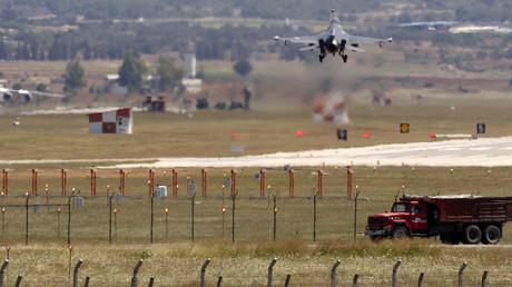 تركيا تعلن شن أول غارة جوية ضد داعش ضمن التحالف الدولي