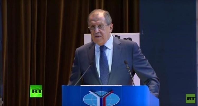لافروف: مطالبة الأسد بالرحيل كشرط لمكافحة الإرهاب أمر ضار وغير واقعي