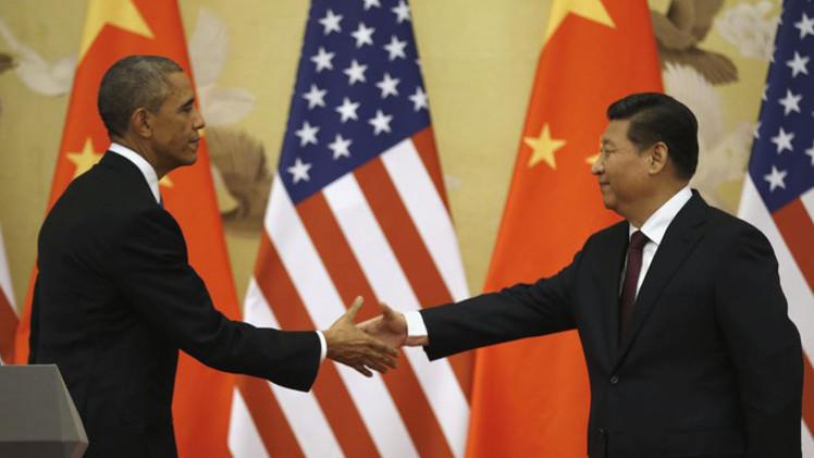 الولايات المتحدة تلوح بفرض عقوبات ضد شركات صينية