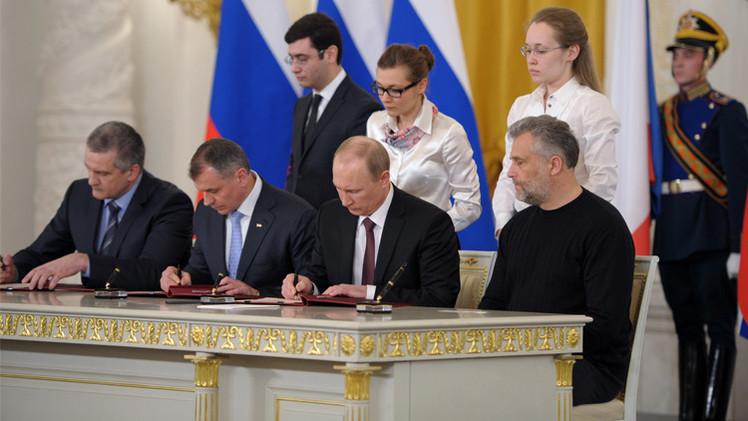 النص الكامل لاتفاقية انضمام جمهورية القرم إلى روسيا