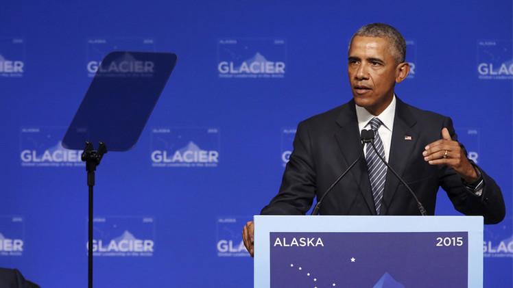 أوباما يكبح الاحترار بعد تحذيرعلماء من عصر جليدي جديد