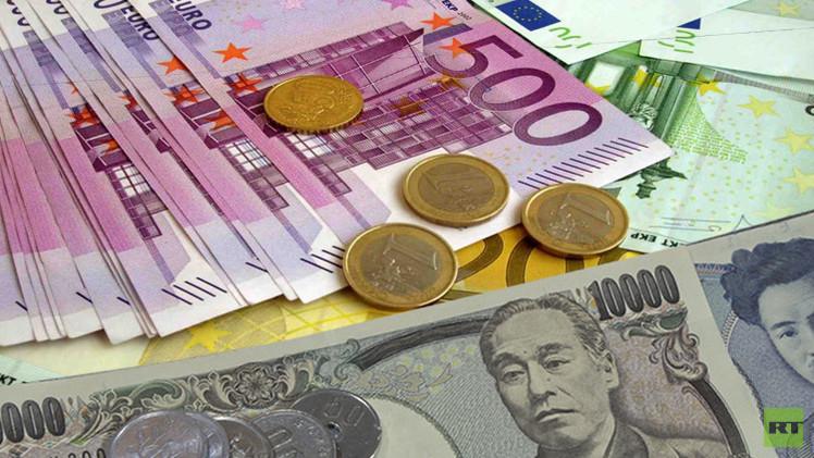 صعود الين الياباني واليورو بعد تراجع الأسهم الآسيوية والأوروبية
