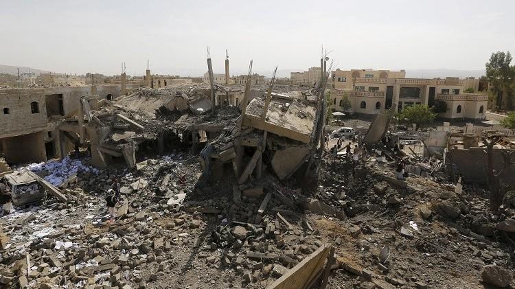 قتلى وجرحى من الحوثيين في غارات للتحالف على تعز جنوب اليمن