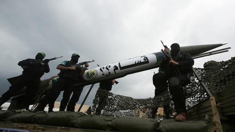 صاروخان يطلقان من غزة ويسقطان داخل القطاع