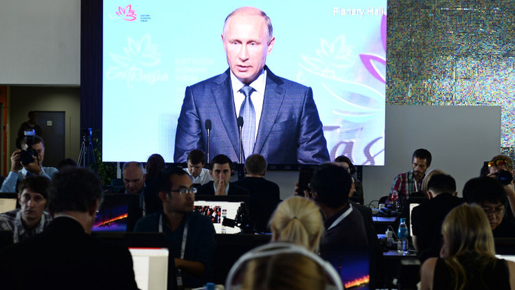 بوتين: تطور الأحداث في أوكرانيا رهن بصبر شعبها على الفوضى الحالية