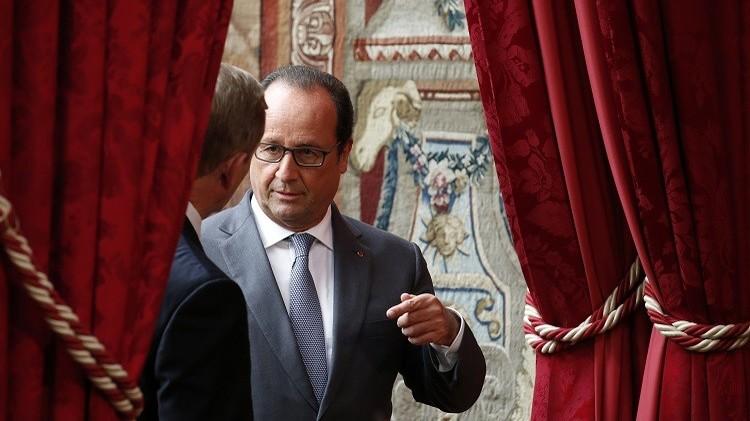 الرئيس الفرنسي قد يفصح الاثنين المقبل عن نيته توجيه ضربات ضد