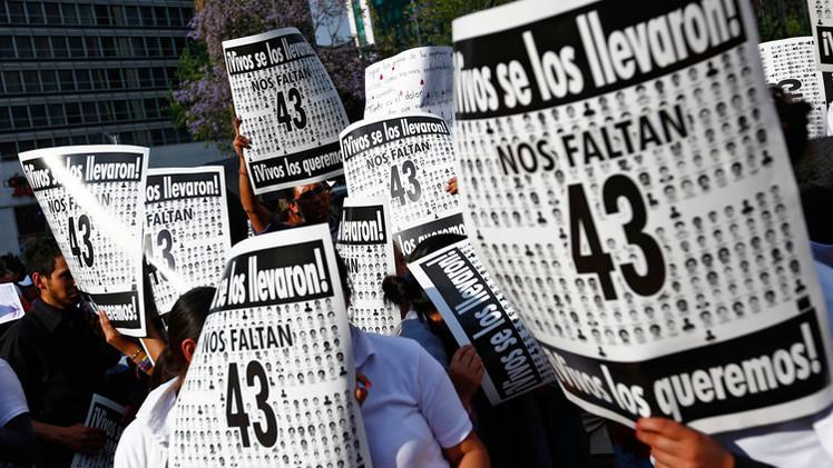 الغموض يزداد حول حادث اختفاء 43 طالبا في المكسيك