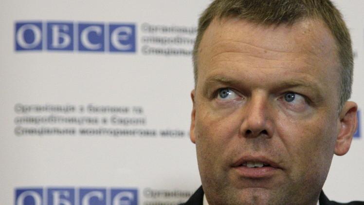 مجموعة الاتصال تواصل عملها على إعداد اتفاق حول سحب الأسلحة بشرق أوكرانيا