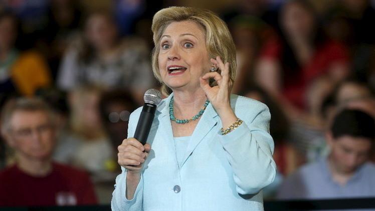 هيلاري كلينتون: لن أتوانى في ضرب إيران دفاعا عن الولايات المتحدة