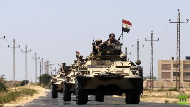 الجيش المصري يقتل 30 إرهابيا ويلقي القبض على العشرات في سيناء