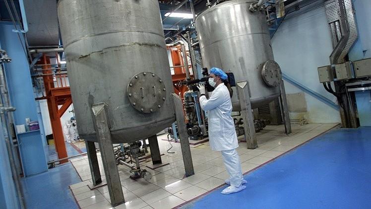 روسيا وإيران تبحثان كيفية سحب اليورانيوم من الأخيرة