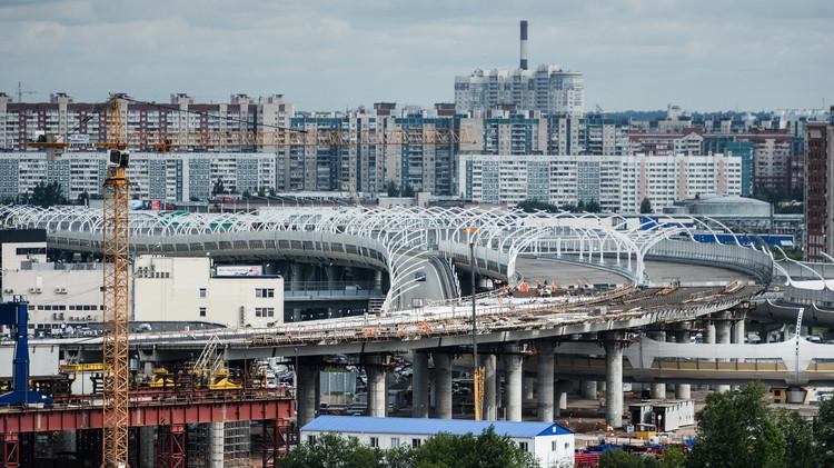 بناء شبكة مواصلات عملاقة في سان بطرسبورغ استعدادا لمونديال 2018