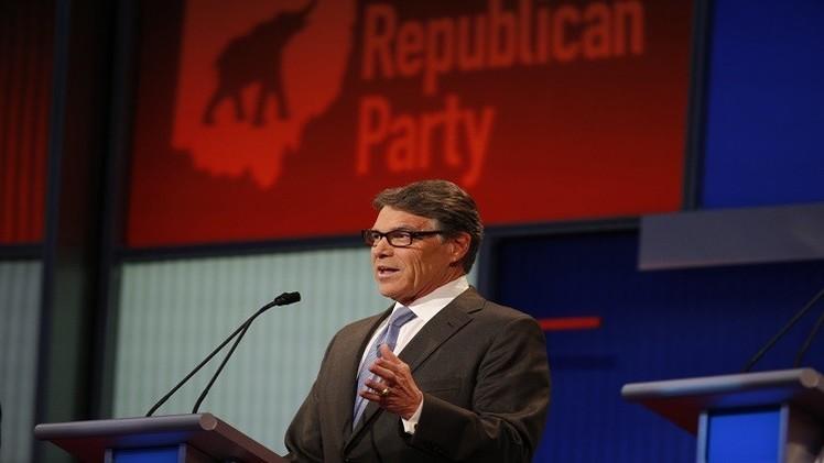 انسحاب الجمهوري ريك بيري من سباق الرئاسة الأمريكية
