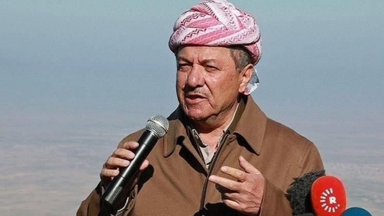 بارزاني: من حق الأمة الكردية أن تخطو الخطوة الحاسمة في الحصول على استقلالها