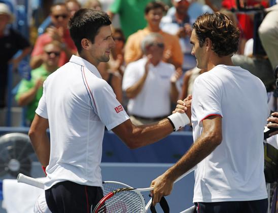 فيدرر يواجه ديوكوفيتش في نهائي بطولة أمريكا المفتوحة للتنس