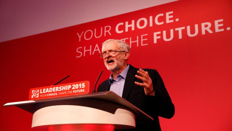اليساري المتشدد جيريمي كوربن، رئيس حزب العمال البريطاني