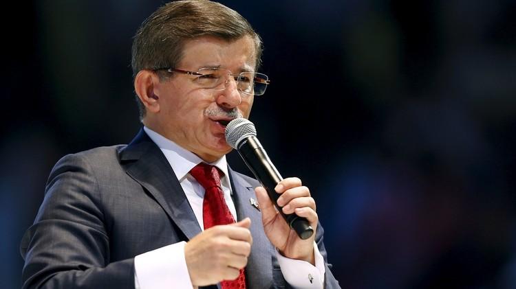 داوود أوغلو: تركيا تحتاج حكومة من حزب واحد لمحاربة