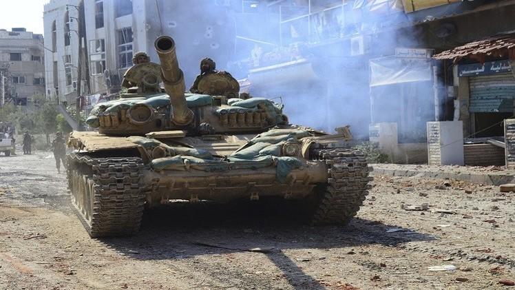 احتدام المعارك في ريف دمشق الشرقي.. والجيش يسيطر على مناطق جديدة في الزبداني