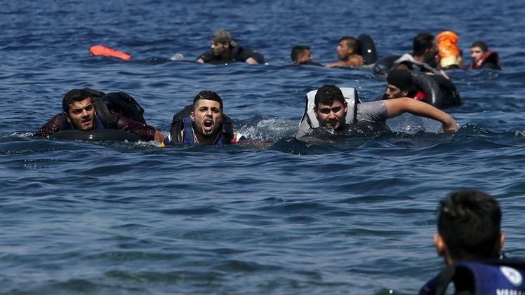 غرق 34 شخصا في السواحل اليونانية أغلبهم رضع وأطفال
