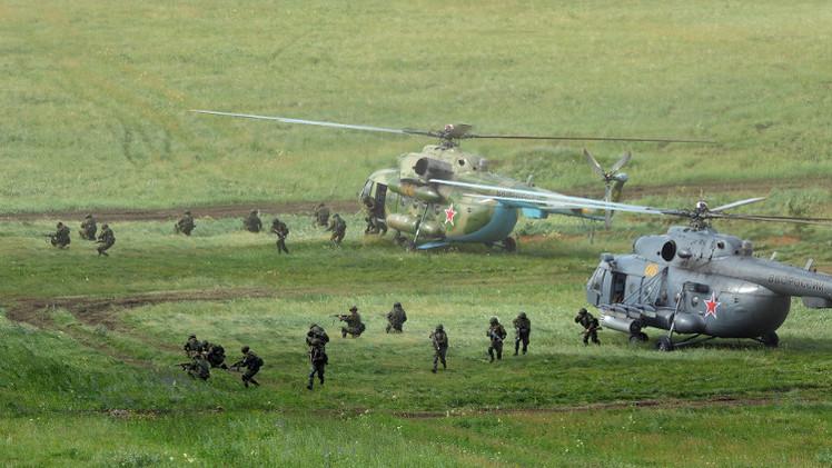 انطلاق تدريبات عسكرية روسية بهدف التصدي لنزاع دولي بآسيا الوسطى