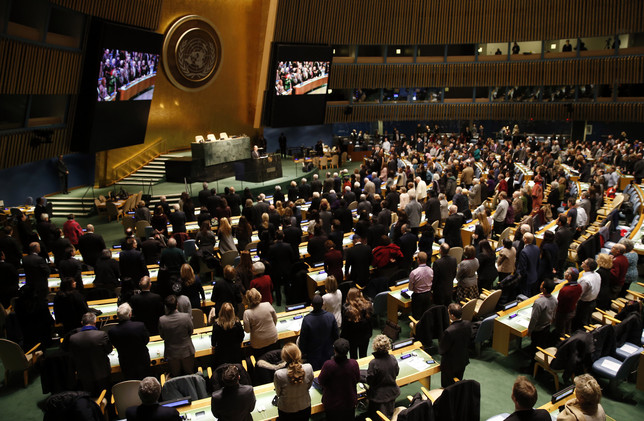 انطلاق الدورة الـ70 للجمعية العامة للأمم المتحدة في ظل تحديات غير مسبوقة