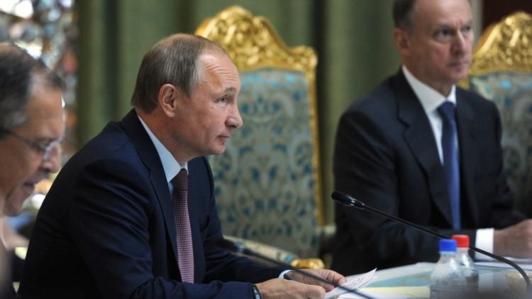 بوتين: روسيا قدمت وستقدم المساعدة لسوريا في مكافحة الإرهاب