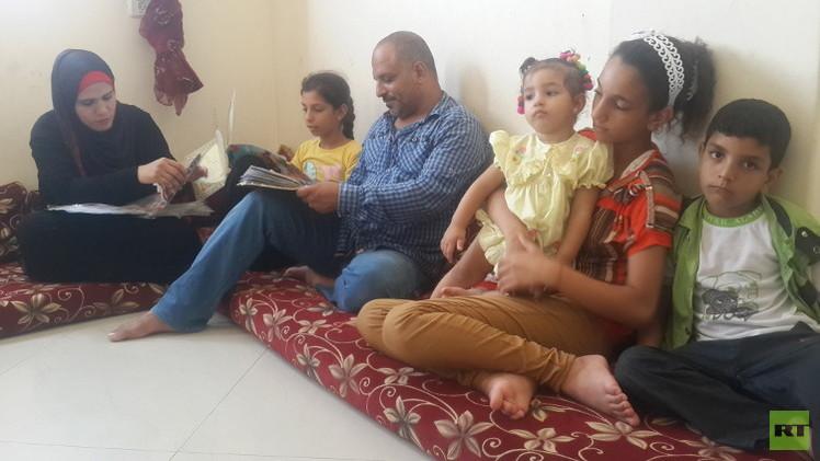 نبيل.. مواطن سوري لجأ إلى غزة المحاصرة