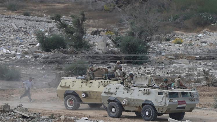 مقتل 55 مسلحا باشتباكات عنيفة مع الجيش المصري في سيناء