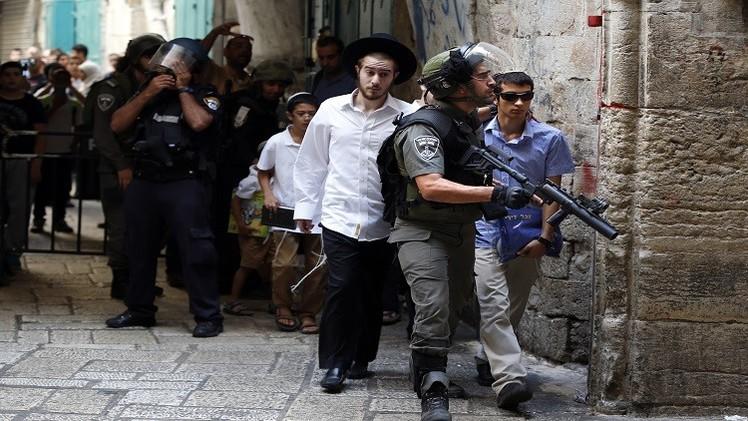 القدس.. المستوطنون يقتحمون المسجد الأقصى لليوم الرابع على التوالي