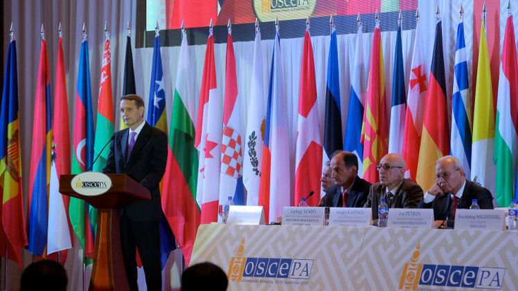 الدوما: واشنطن قد تسعى إلى زعزعة الأمن في أوروبا بعد إثارتها للفوضى في الشرق الأوسط