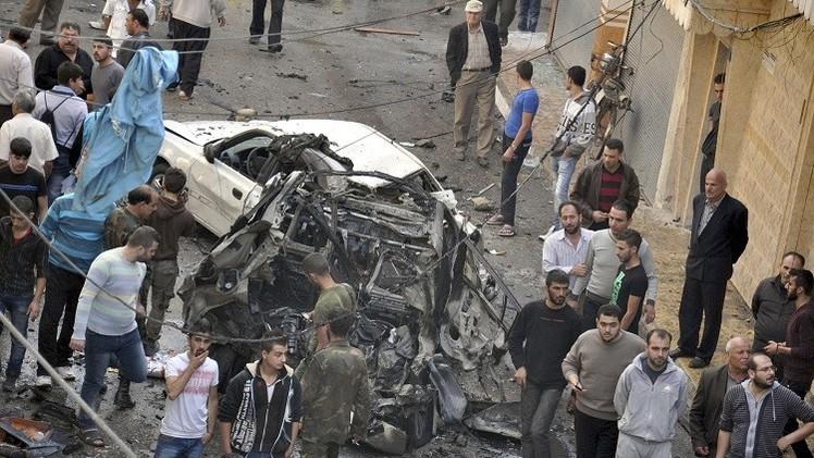 سوريا.. إصابات بتفجير مفخخة في حمص وأنباء عن مقتل مدنيين في إدلب