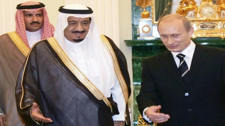 بوتين يناقش الوضع في الحرم القدسي مع العاهل السعودي