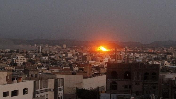 اليمن.. مقتل 33 في غارات للتحالف قرب العاصمة صنعاء