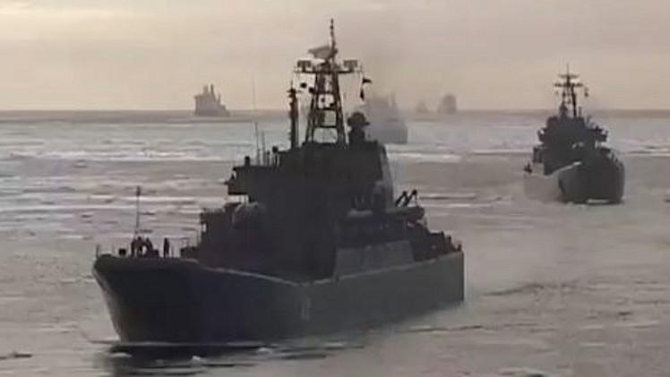 أسطول الشمال الروسي يطلق صواريخ في تدريبات بمنطقة القطب الشمالي