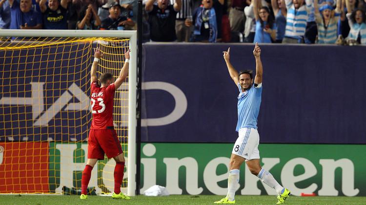 فيديو .. لامبارد يحرز باكورة أهدافه مع نيويورك سيتي