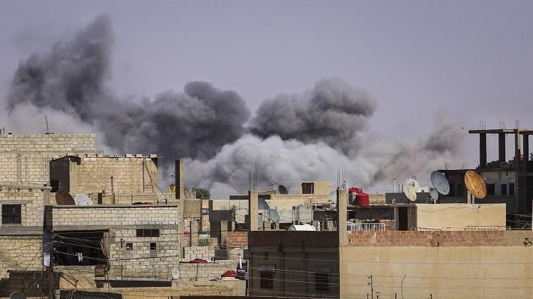 سوريا.. قتلى وجرحى بغارات للطيران الحربي السوري على الرقة