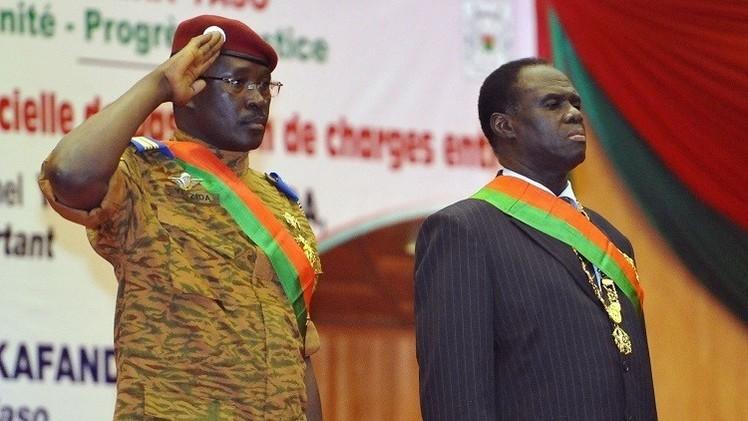 انقلابيو بوركينا فاسو يفرجون عن الرئيس ميشال كافاندو
