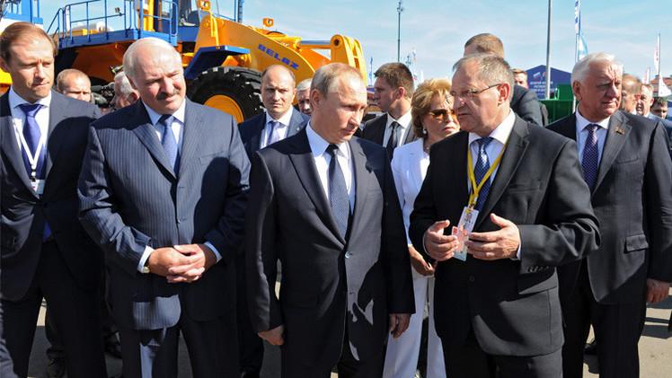 بوتين: روسيا وبيلاروس ستتجاوزان الصعوبات الاقتصادية الحالية