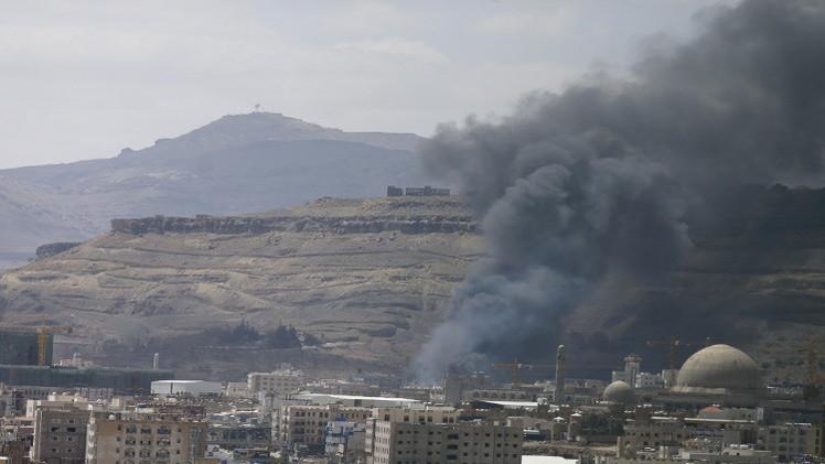15 قتيلا بينهم مدنيون في قصف لطائرات التحالف على صنعاء