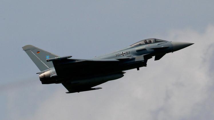 مقاتلات ألمانية تقوم بدورية في أجواء دول البلطيق بالذخيرة الكاملة